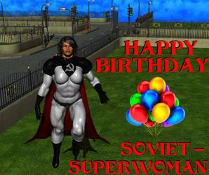 Happy Birthday Soviet Superwoman! by NoireComicsStudio