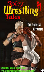Spicy Wrestling Tales #12 - Front Cover!