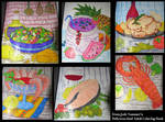 More Food Coloring Fun! by NoireComicsStudio