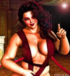 Raging Housewives 24 - Pinup of Red!