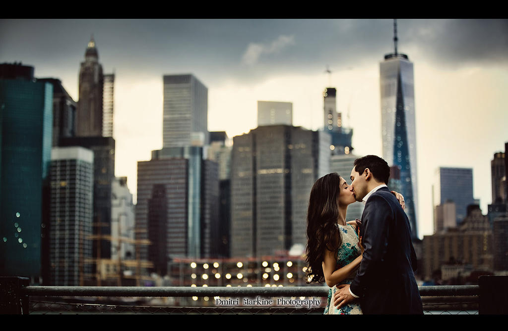 Rainy Engagement Session Brooklyn, New York by demi2004