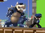 Dark Bowser :: Dark Mario