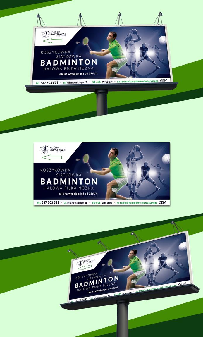 Badminton by 123marus