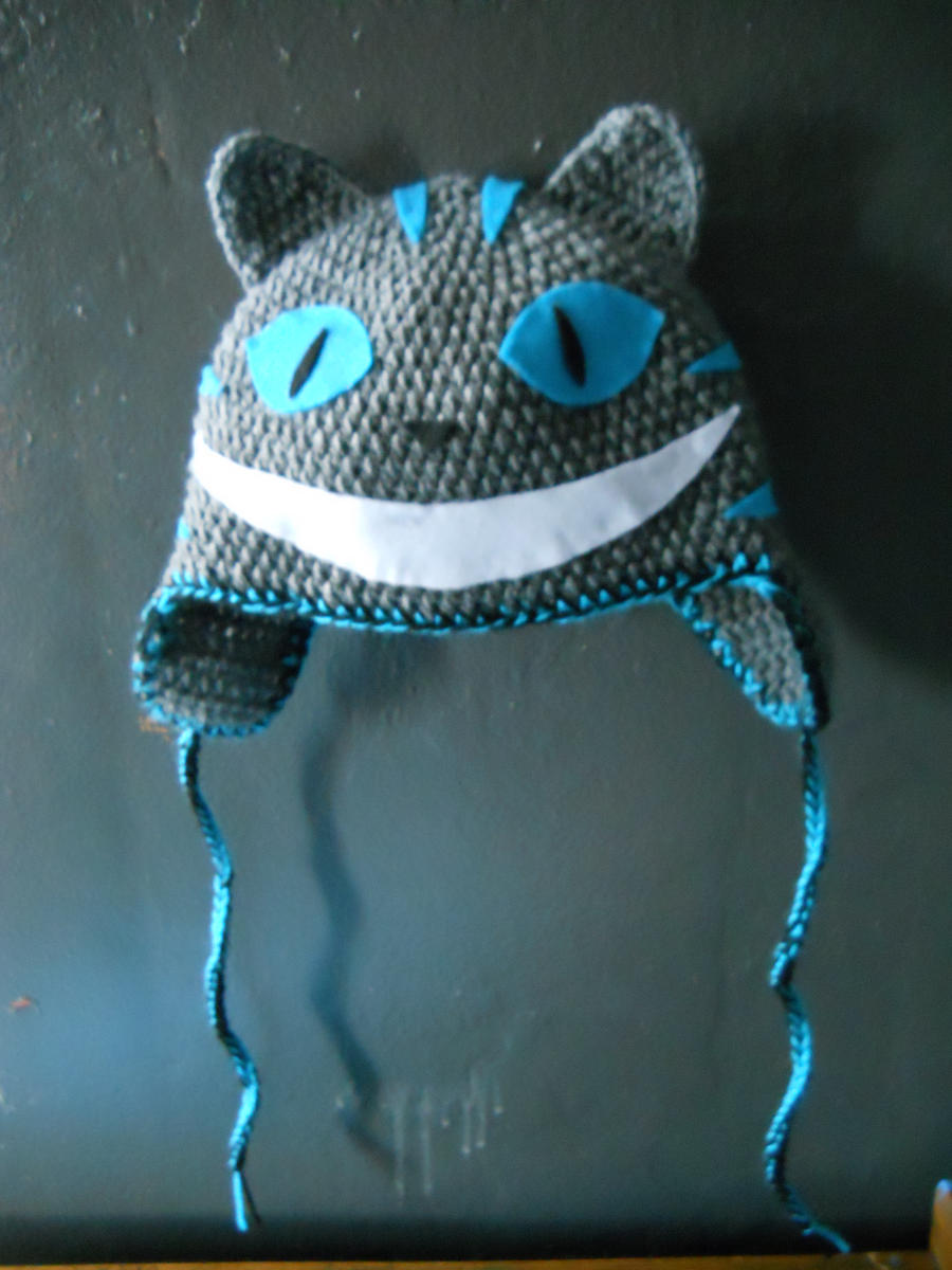 Crochet Hat Cheshire Cat by Twitcorn on DeviantArt