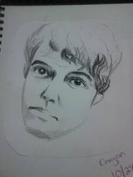 Crayon Man by Sxey