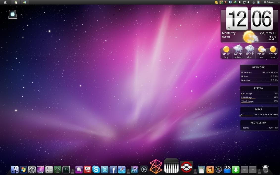 Mac Desktop Xd Screenshot' By Ferxho0