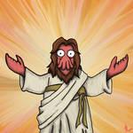 Jesus - Zoidberg - fanart