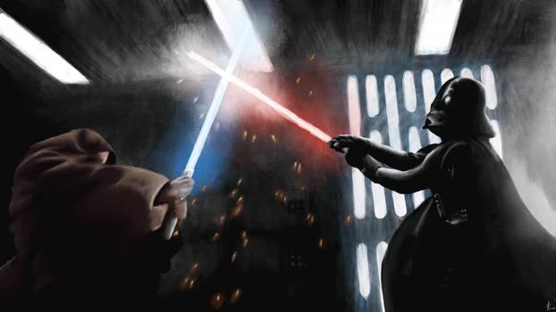 Star Wars   Obi-Wan Kenobi vs Darth Vader
