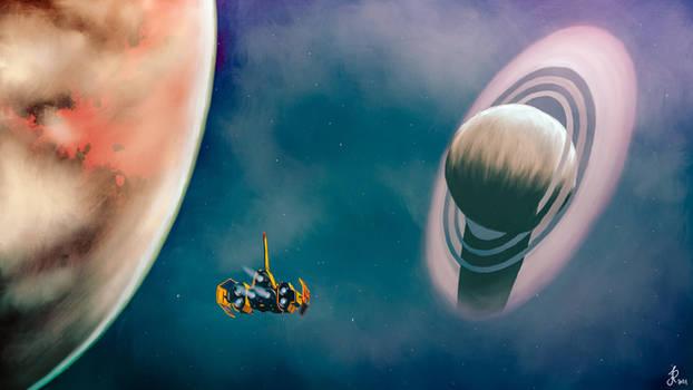 Exploring in space   No Man's Sky