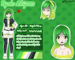 Comission #3 Ryoko Akiyano [( Reference Profile )]