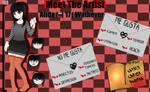 Meet The Artist by LadyCreepasta666