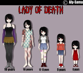 || CreepyPasta || Lady Of Death by LadyCreepasta666