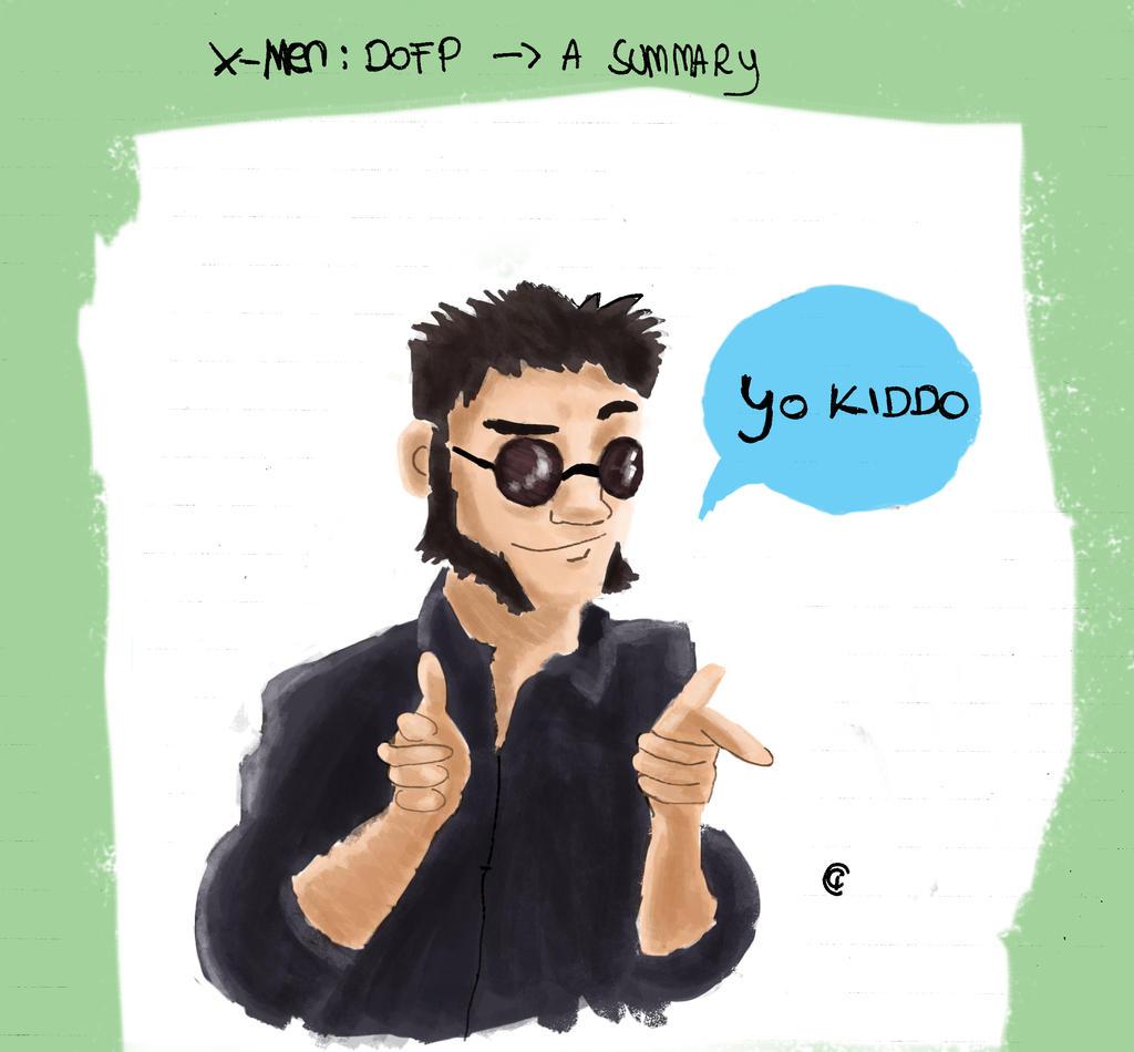 Yo, kiddo - X-Men DOFP by Giorgia99
