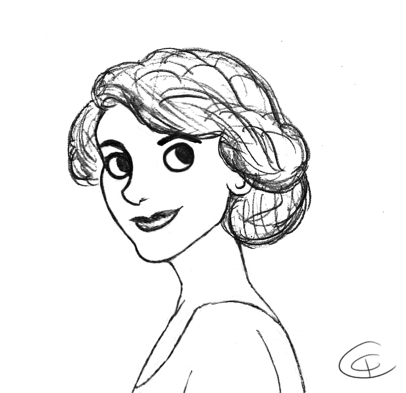 Lady Mary Crawley by Giorgia99