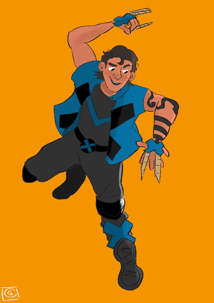 Daken - X-Men Blue by Giorgia99