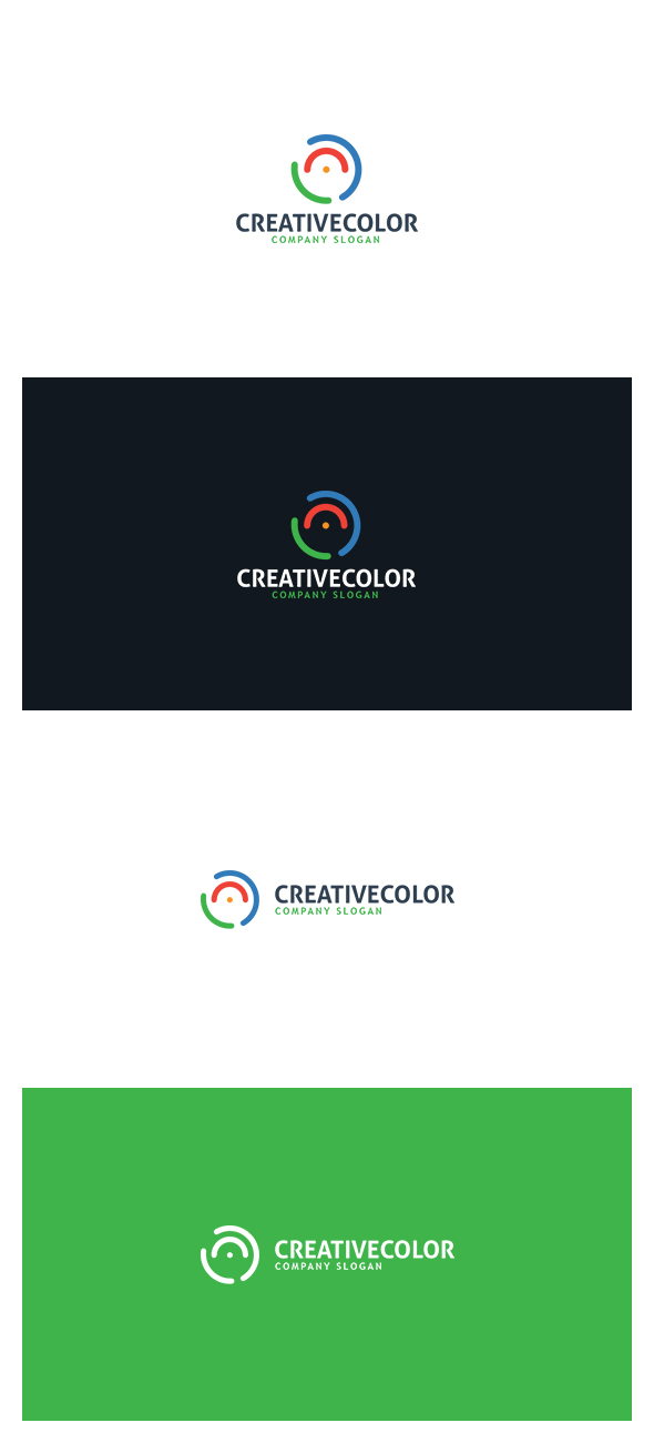 Creative Color Logo by AlinDesign