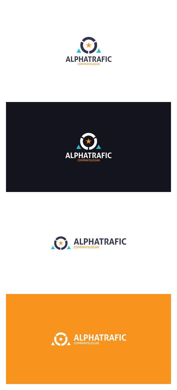 Alpha Trafic Logo by AlinDesign