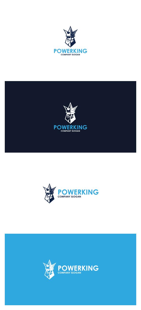 Power King Logo by AlinDesign