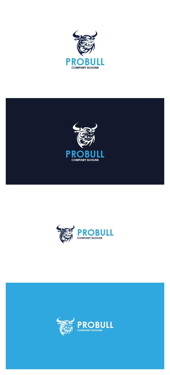 Pro Bull Logo by AlinDesign on DeviantArt