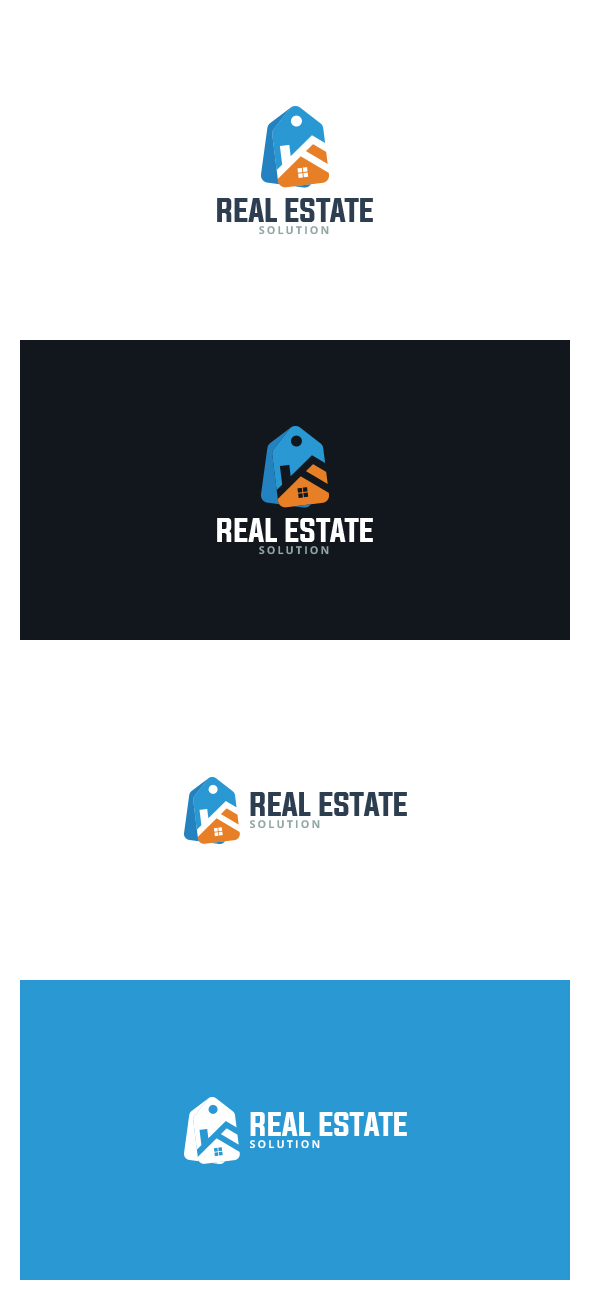 Real Estate Logo by AlinDesign