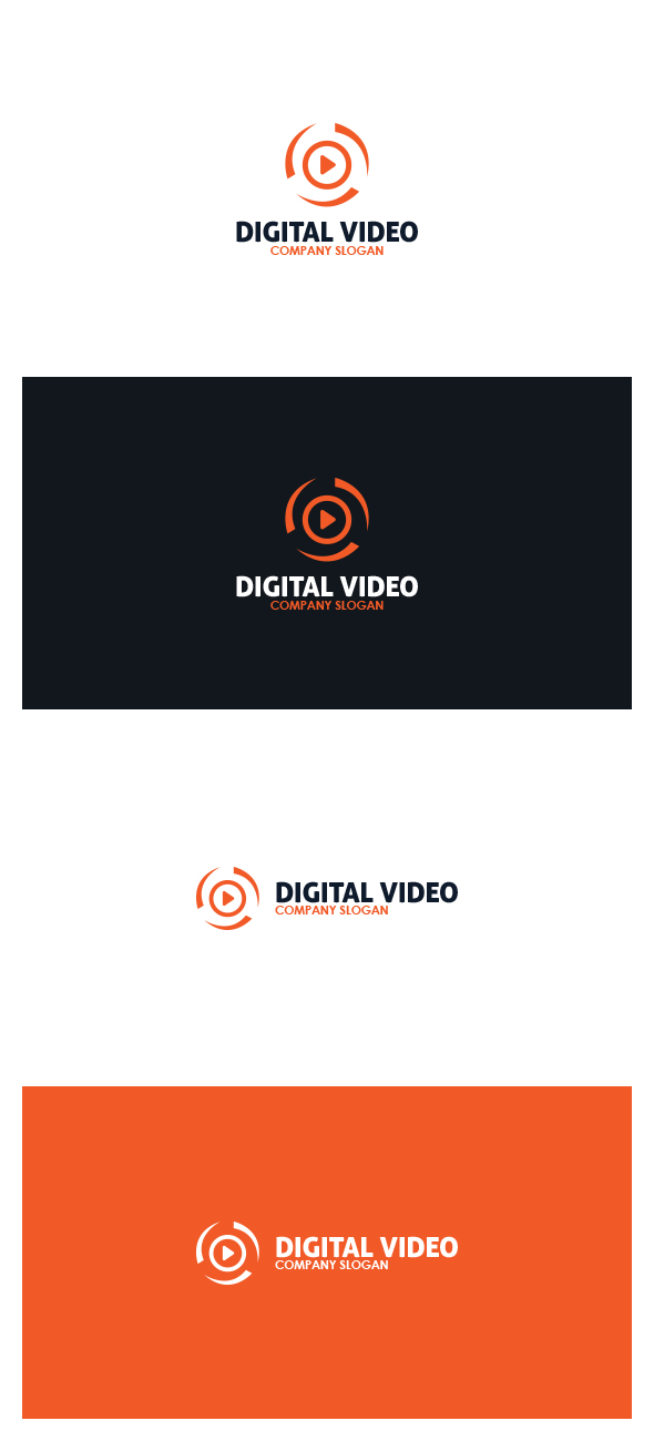 Digital Video Logo by AlinDesign