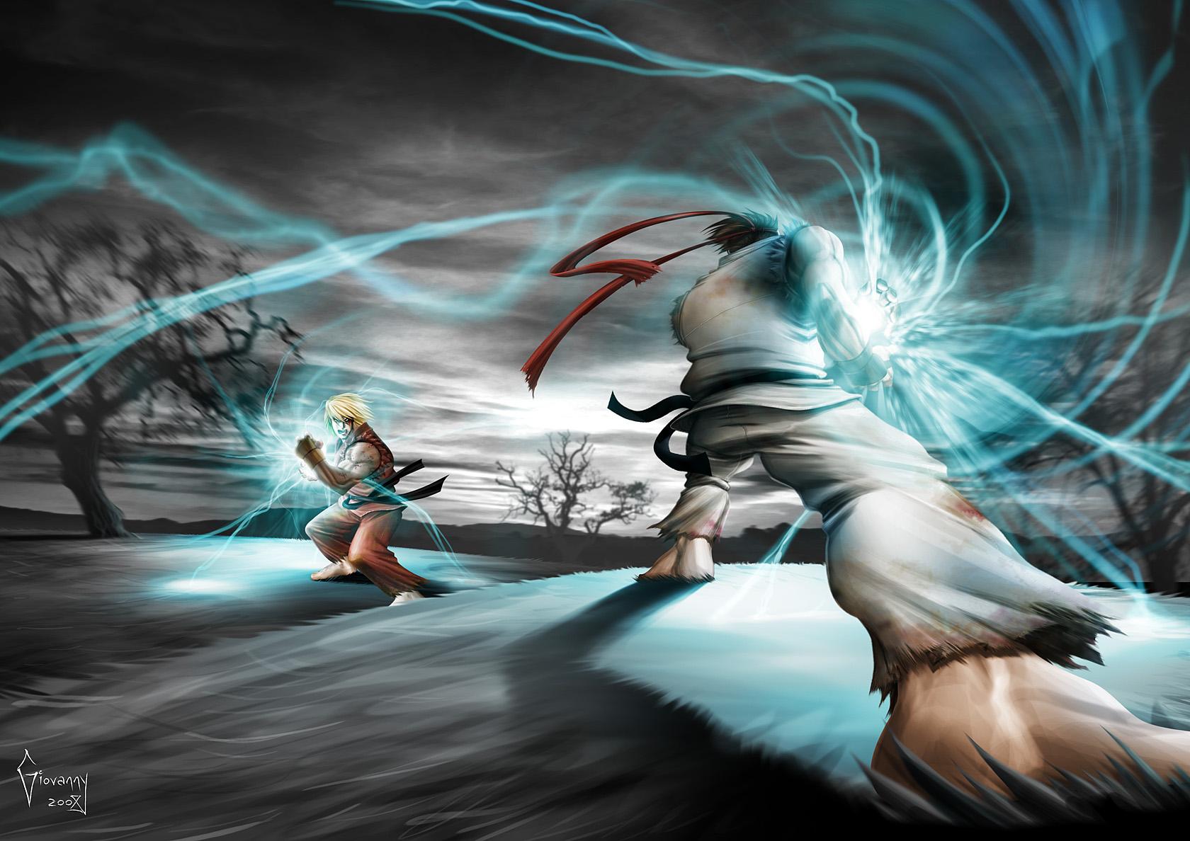 Street Fighter 4 by Matelandia