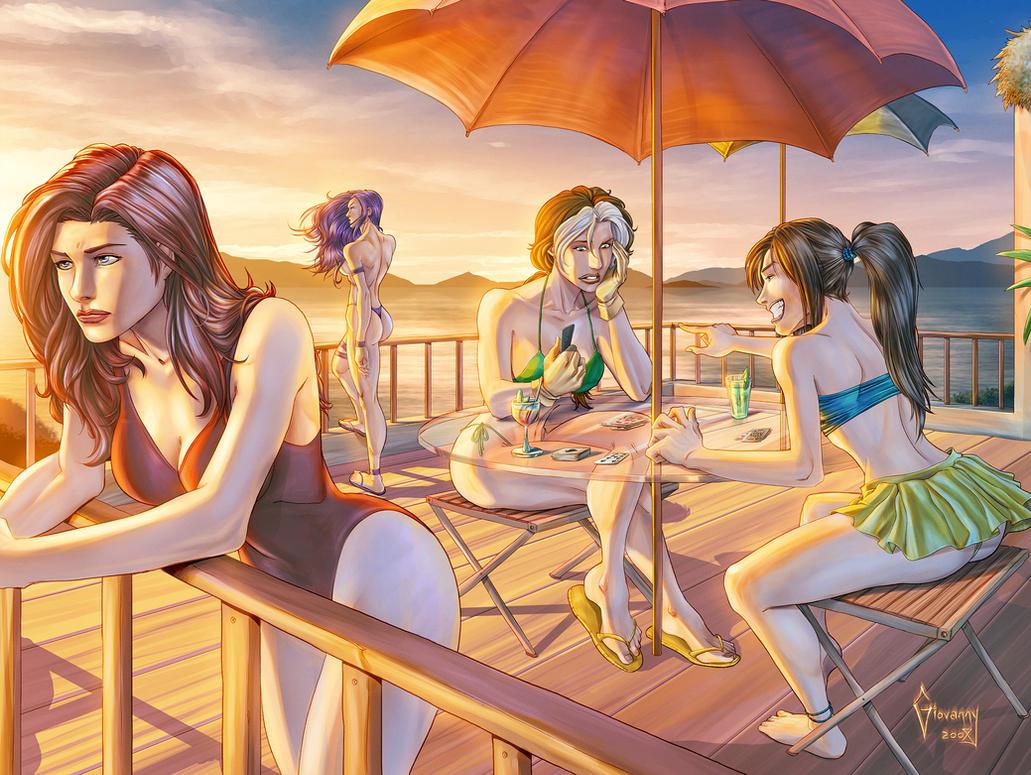 Girls of Summer by Matelandia