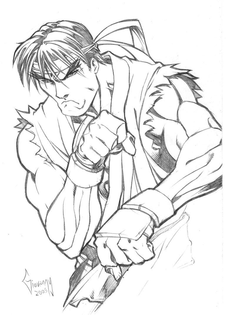 street fighter coloring pages - photo#19