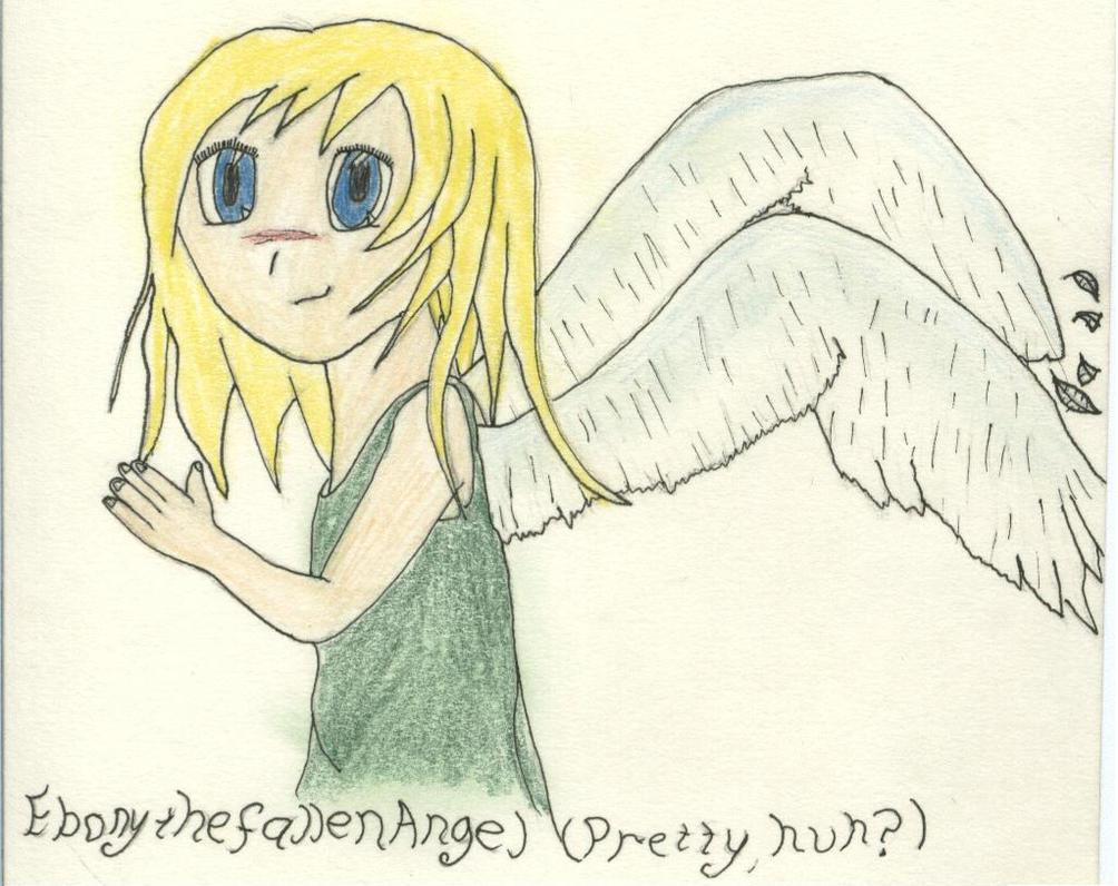 Ebonythefallenangel by Mareo-and-Anime