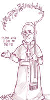 HBD to Pope Francis