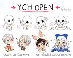 [OPEN] cheap YCH chibi (paypal/points) by seiji606