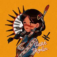 Lakota girl