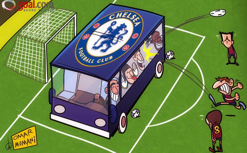 Sportok - Page 16 Chelsea_bus_arrives_at_camp_nou_by_omomani-d4xjbhj