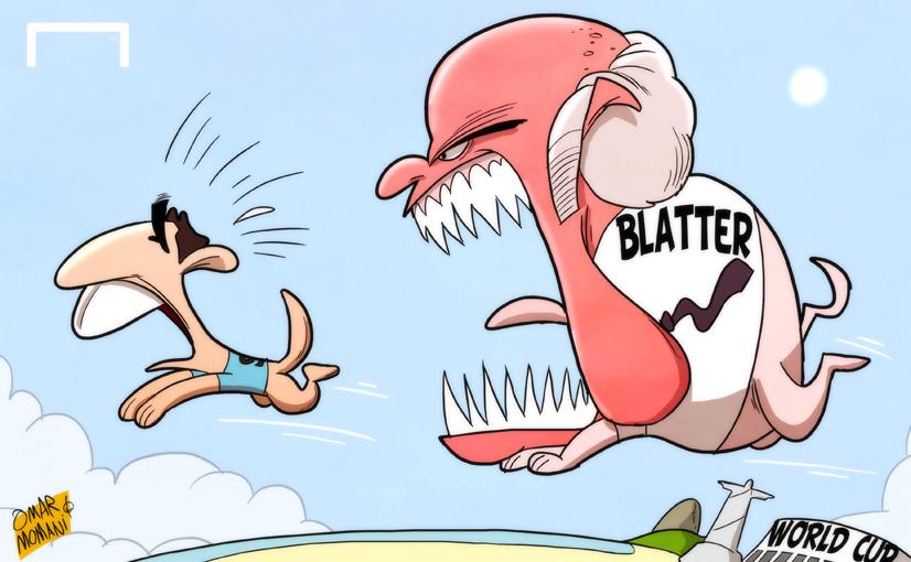 Fifa bites back in Suarez saga by OmarMomani