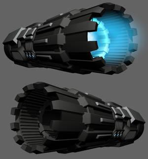 Space Crusier Engine WIP