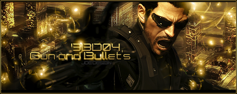Deus Ex Human Revolution 01 by Joe88Design