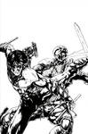 Nightwing vs Deathstroke