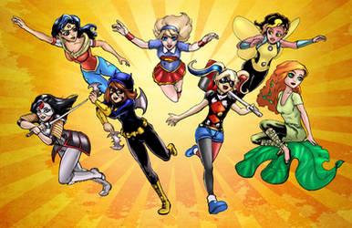 DC SuperHero Girls by kelbykross