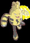 Elekid used Thunder Punch! by nabhalim