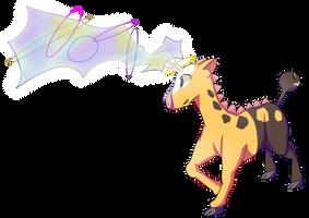 Girafarig used Psybeam! by nabhalim