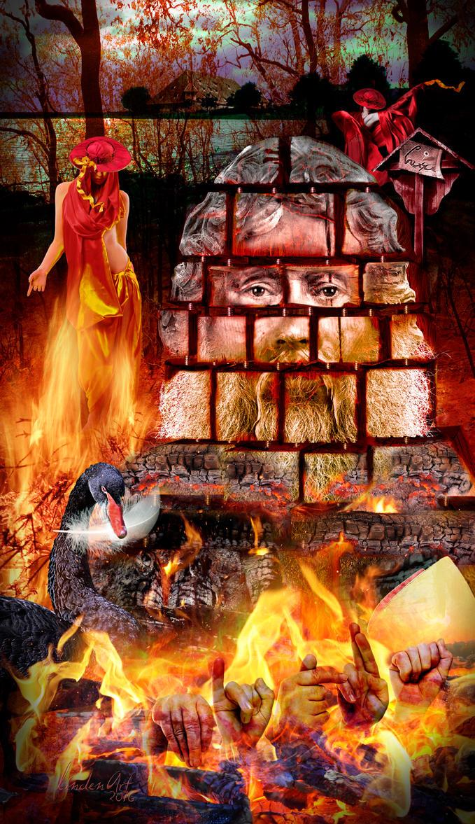 Anser ardet 1415 by lindenART