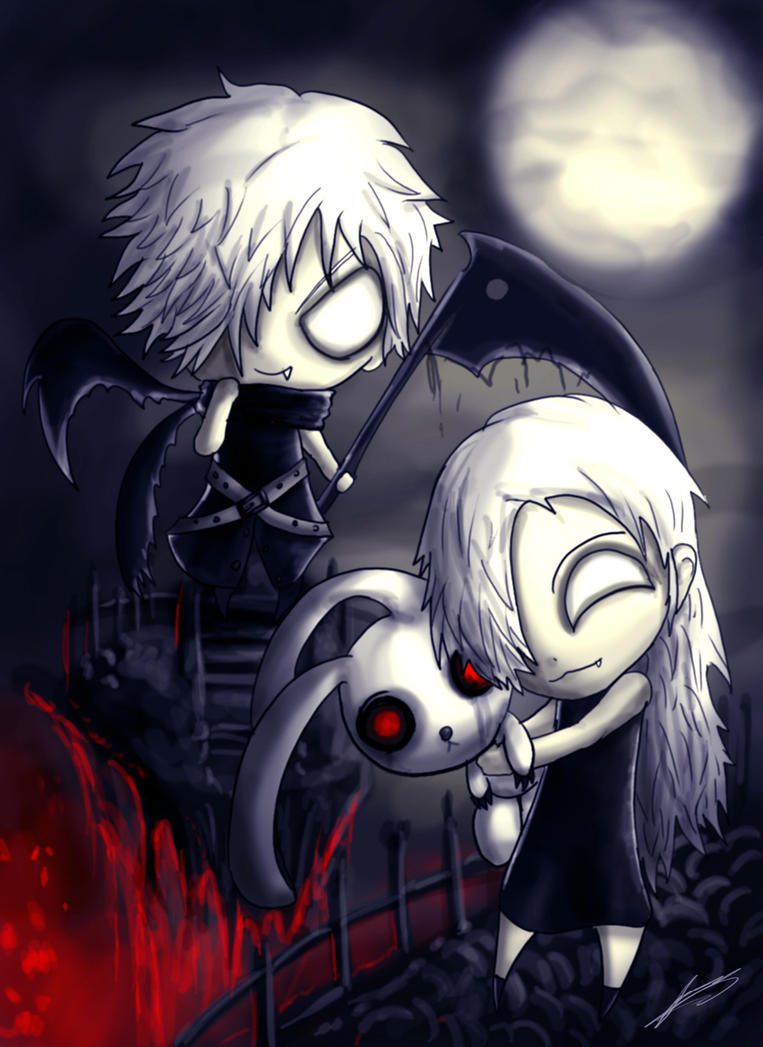 The Grim Siblings by ichimoral