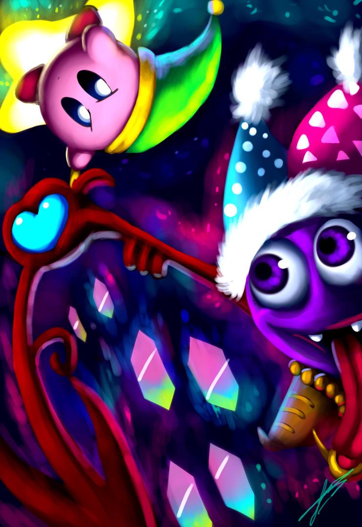 Kirby Vs Marx's Soul by ichimoral on DeviantArt