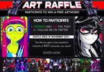 Twitter Free Art Raffle Giveaway