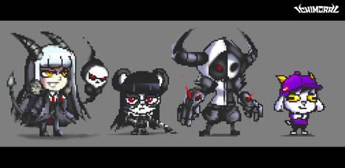Chibi Pixel Arts