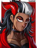 Commission - Tempest Demon