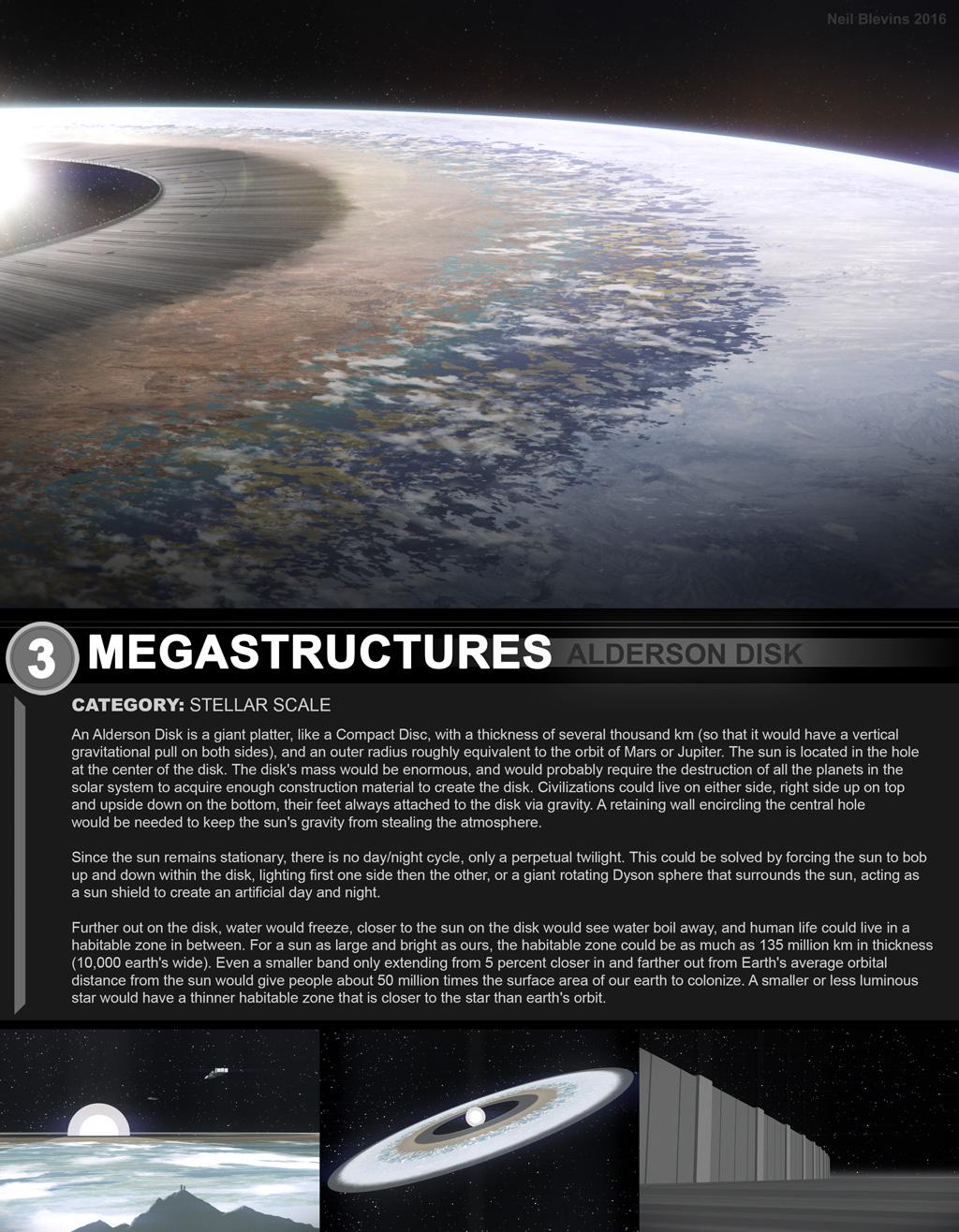 Megastructures Alderson Disk