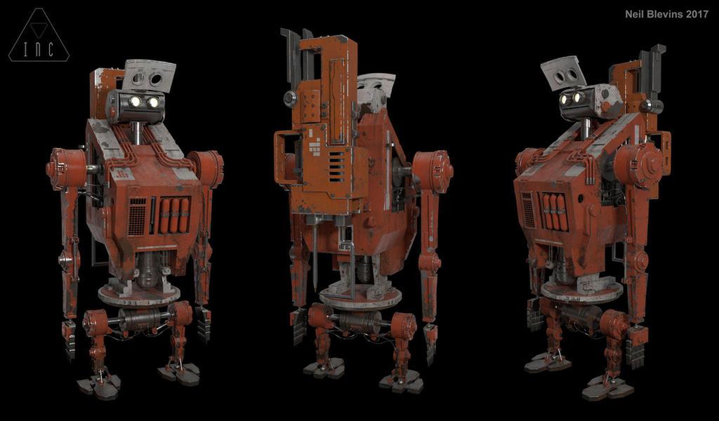 Inc The Robot 14 by ArtOfSoulburn