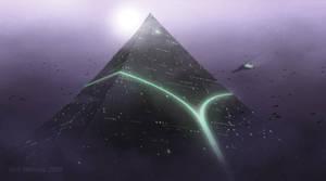 Pyramid 2 Rough by ArtOfSoulburn