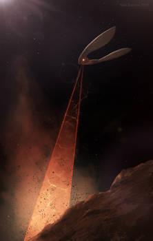 Xeelee Sequence Mercury Excavation
